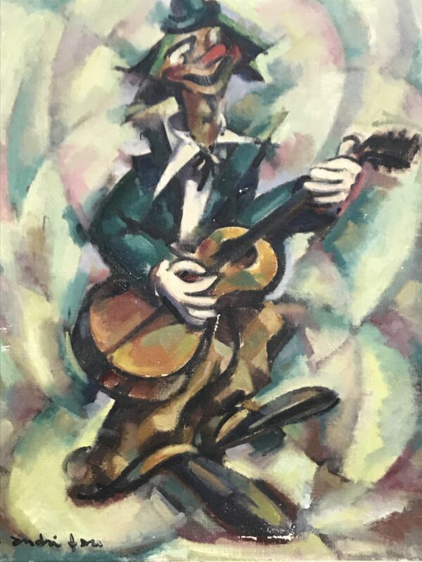 André Fau - Le clown musicien - 1948