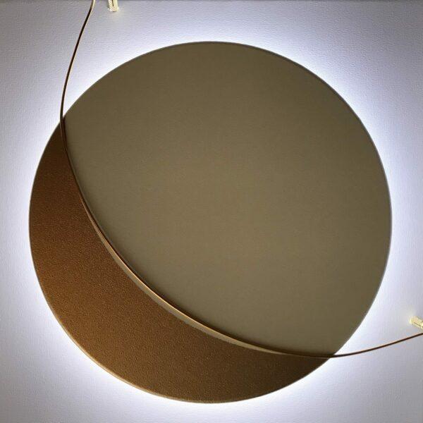 Bruno Bani - Satellite - Peinture/sculpture/éclairage