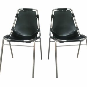 Charlotte Perriand - Paire de chaises - Les Arcs