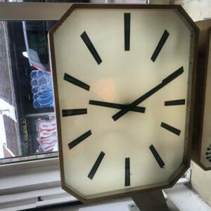 Horloge duoface de distributeur ROLEX