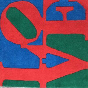 Robert Indiana - Tapis love