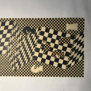 Victor Vasarely - L'échiquier