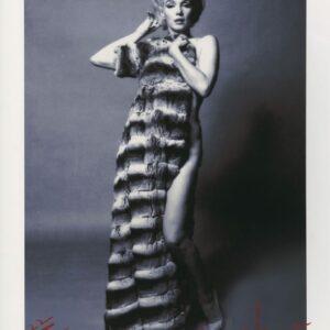 Bert Stern - Marilyn Monroe in chinchilla coat