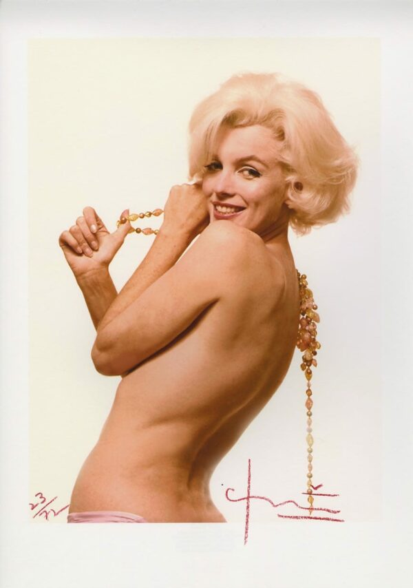 Bert Stern - Marilyn Monroe sexy back