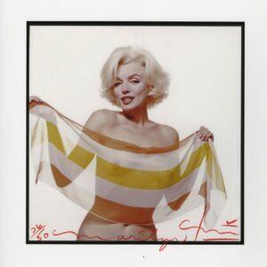 Bert Stern - Marilyn Monroe slanted scarf