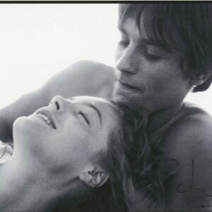 Bert stern - Romy schneider et alain delon sur le tournage de La Piscine (1968)