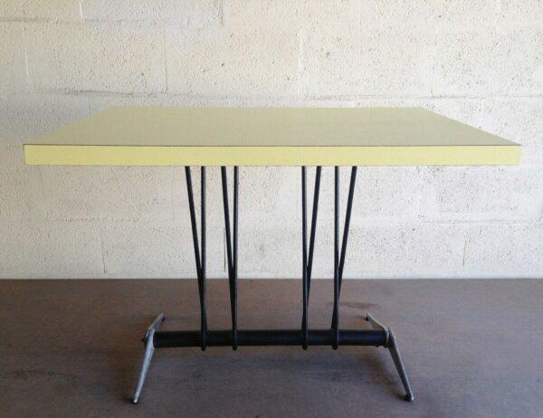 Jean Prouvé - Table rectangulaire pour l'Aero Club de Doncourt-les Conflans