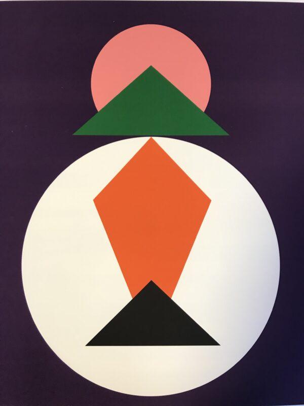 Geneviève Claisse - Abstract geometrique