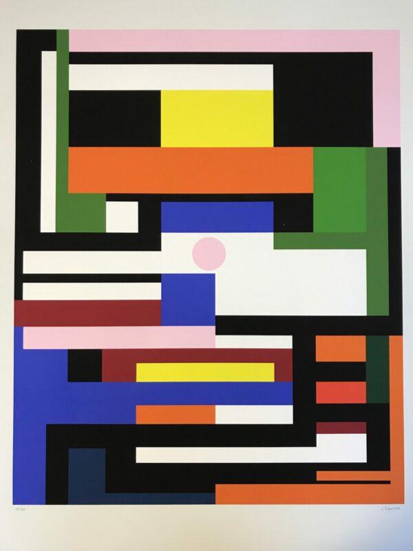 Geneviève Claisse - Abstract multicolore