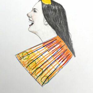 Mateo ANDREA - Bailarina, 2020 - Dessin