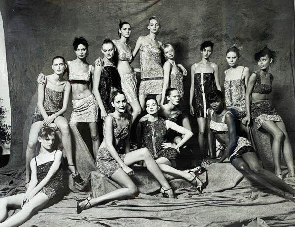 Sante D'ORAZIO - Mannequins (campagne Versace1