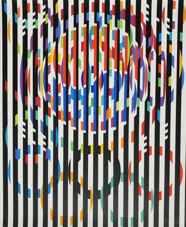 YAACOV AGAM - MESSAGE OF PEACE, 1988 - SÉRIGRAPHIE SIGNÉE AU CRAYON