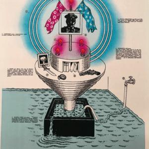 Ettore SOTTSASS - L'Altare, 1974 - Sérigraphie