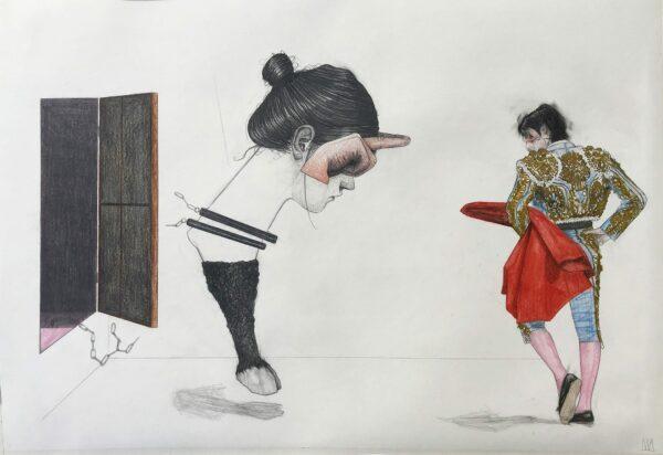 Mateo ANDREA - Taurus - 2011 - Dessin