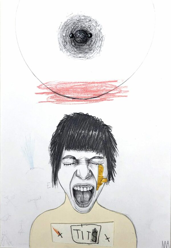 Mateo ANDREA - Tit -2017 - Dessin
