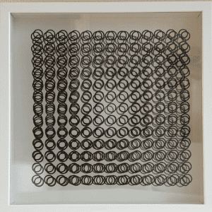 Victor VASARELY - Cinétique A, 1973 - Sérigraphie