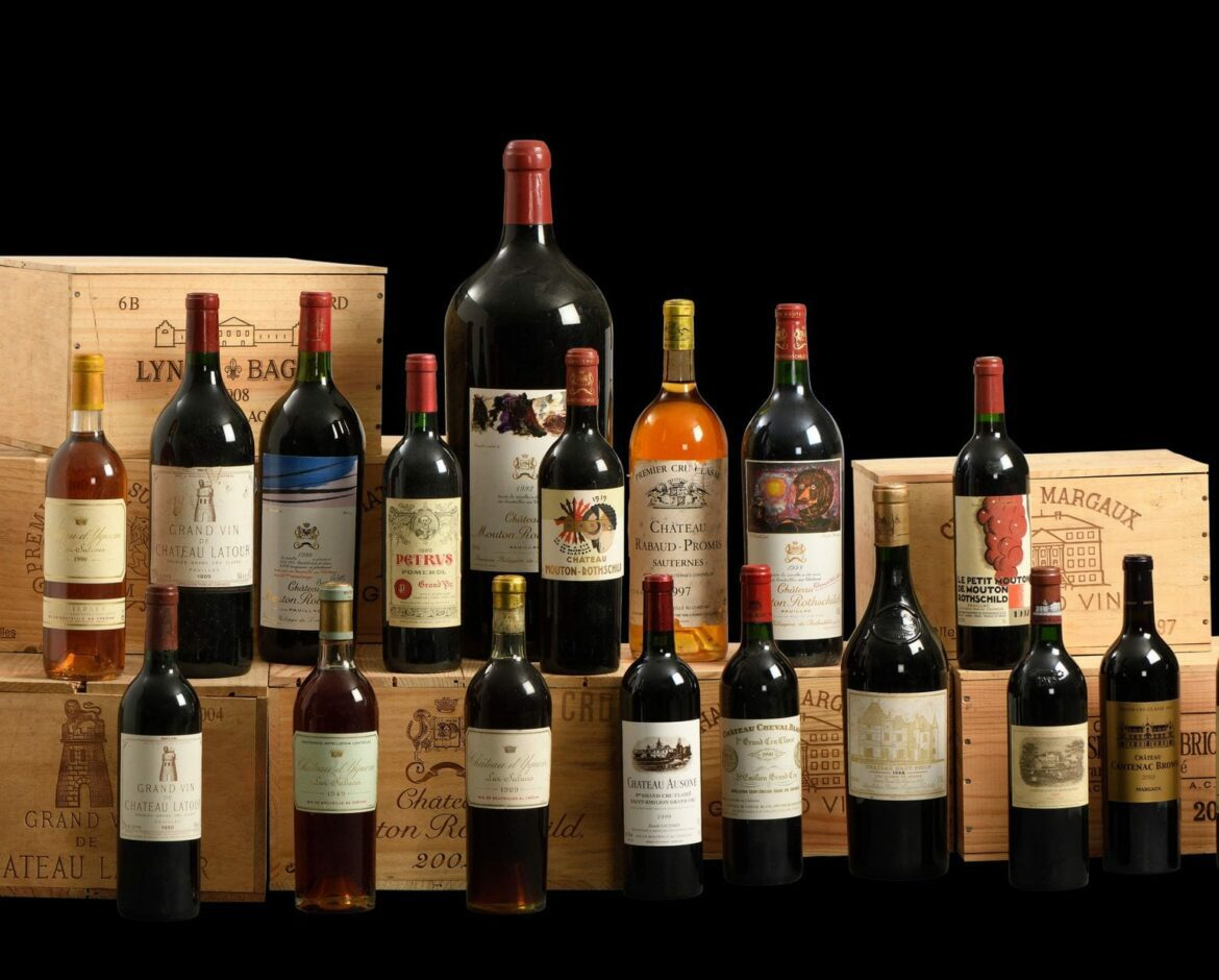 © Actéon sale of exceptional wines over two days