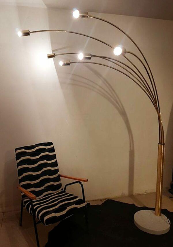Lampe de parquet - Design italien - circa 1975