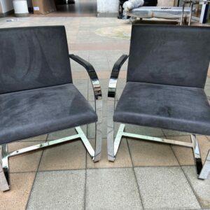 Ludwig Mies van der Rohe - Paire de fauteuils Brno
