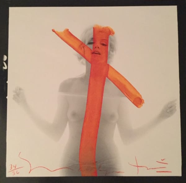 Bert STERN - Marilyn crucifix II - 2012