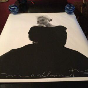 Bert STERN - Marilyn in the black dress looking at you