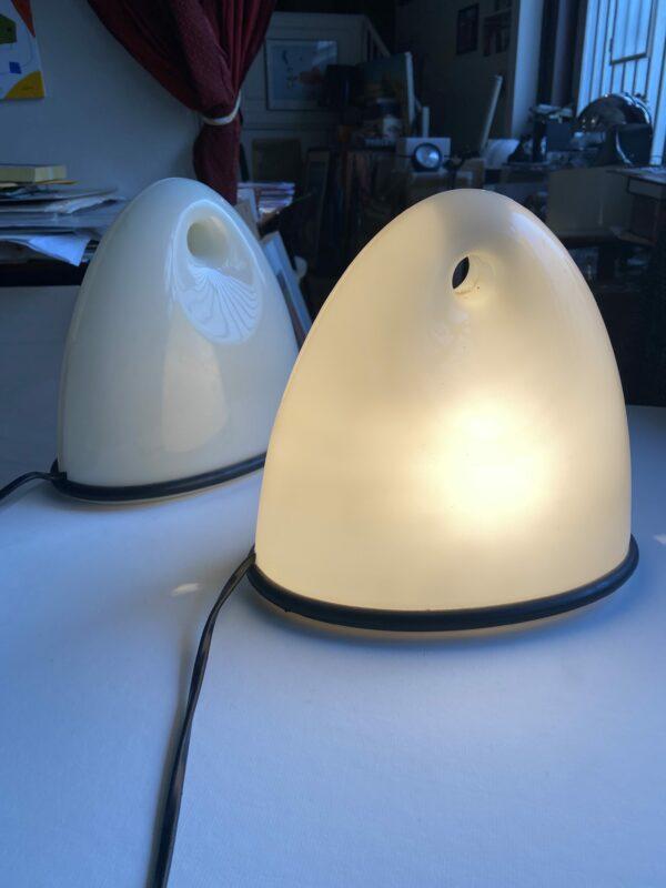 Bruno Gecchelin - Paire de lampes Lalea