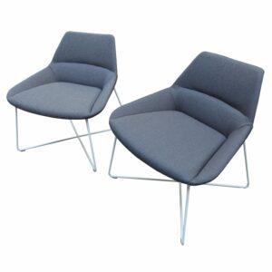 Christophe Pillet - Paire de fauteuils pour Air France -Dunas