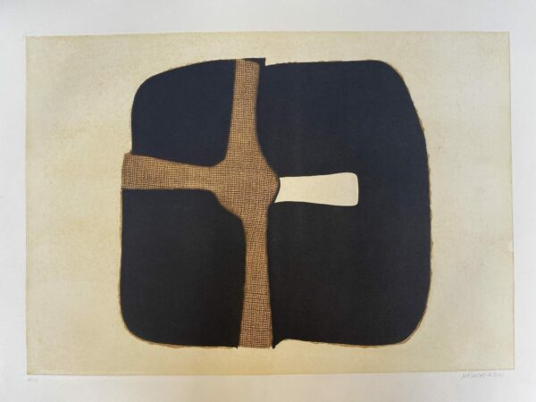 Conrad Marca-Relli - Composition 3 - Numéroté 38/75 - 1977