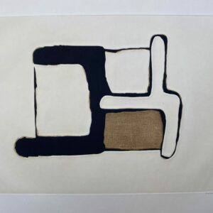 Conrad Marca-Relli - Composition 4 - Numéroté 2:75 - 1977