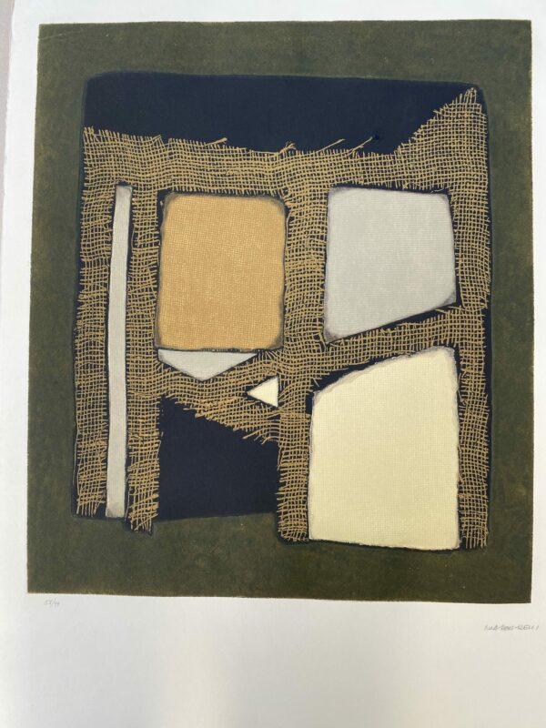 Conrad Marca-Relli - Composition 6 - Numéroté 58/99 - 1977