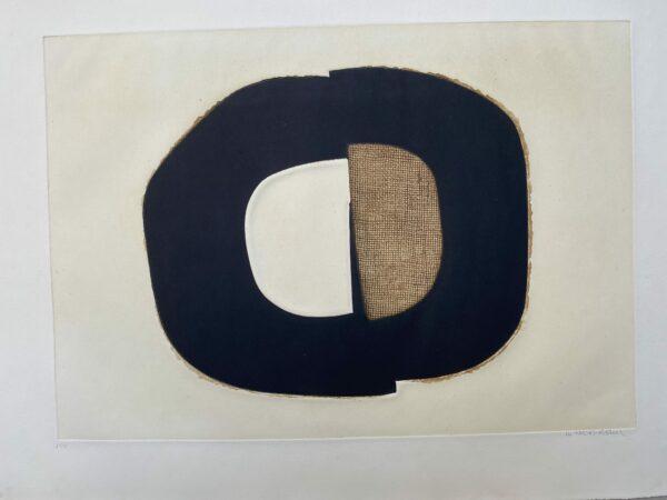 Conrad Marca-Relli - Composition 8 - Numéroté 31/75 - 1977