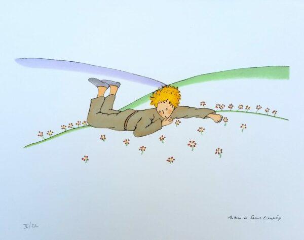 DE SAINT-EXUPERY (d'après) - La Tristesse du Petit Prince