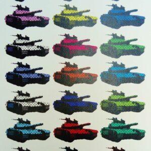 Death NYC – Multicolored tank