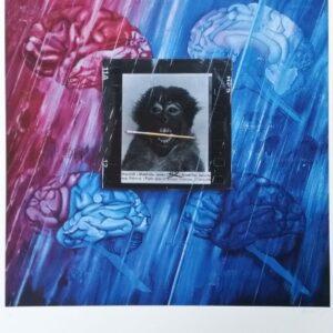 Jacques MONORY - Monkey, 1980
