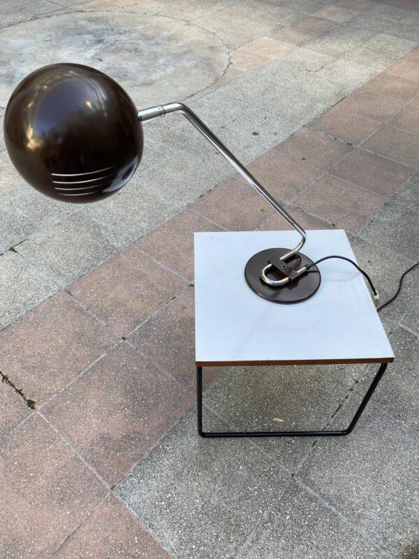 Joe Colombo - Lampe de Table marron