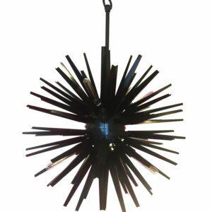 Lustre Appolo noir - Eichholtz - 2010 - Murano