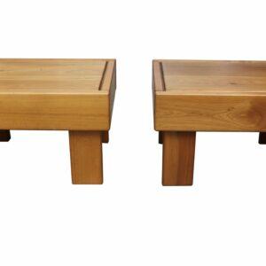 Maison Regain - 2 tables basses