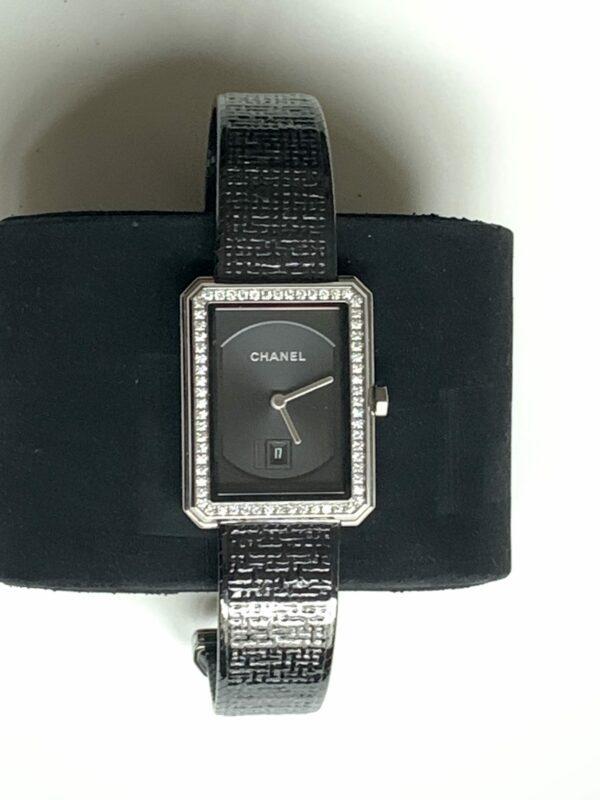 Montre Chanel - Boyfriend tweed/ Diamants