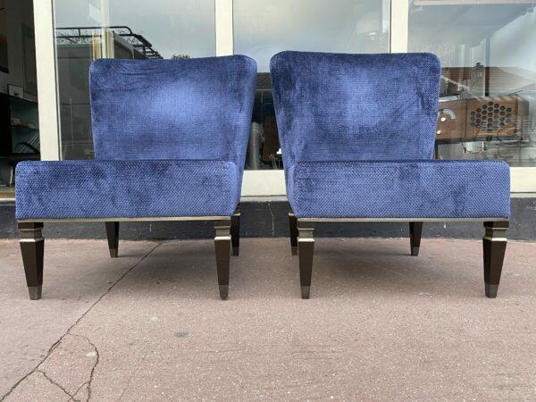 Paire de fauteuils/ chauffeuses - Héritage