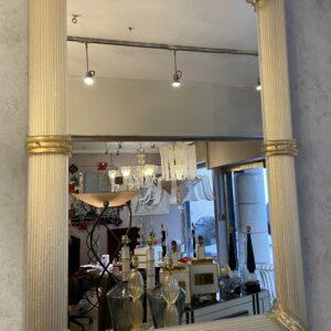 Paire de miroirs dorées en verre de Murano