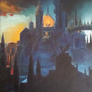 Philippe DRUILLET - Huile sur toile signée