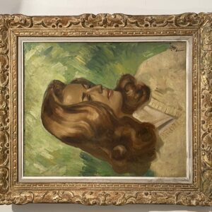 Pierre Piget - Portrait de Jeanne Moreau