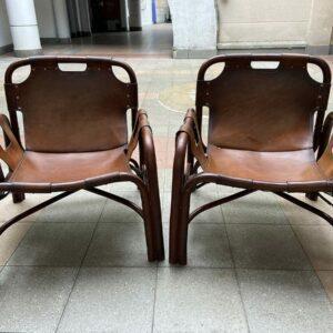 Tito AGNOLI - Paire de fauteuils - circa 1960