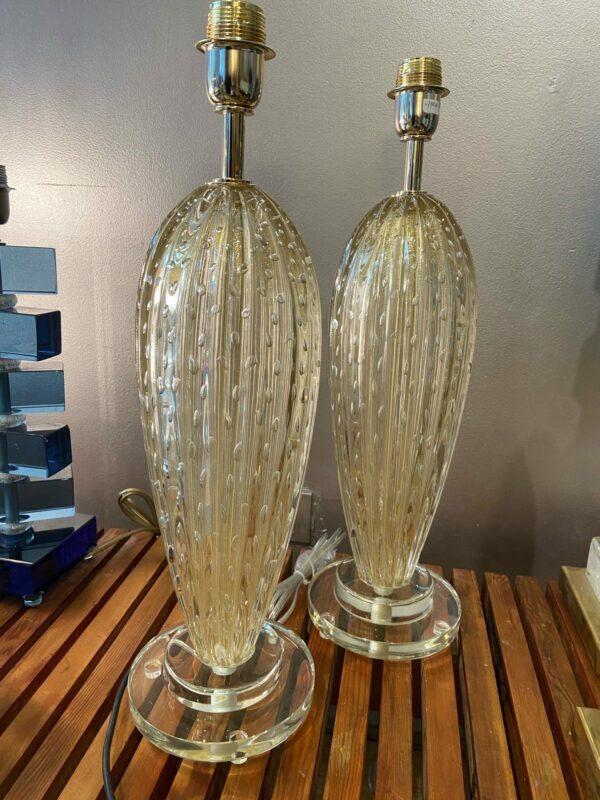 Toso - Paire de lampes - Murano