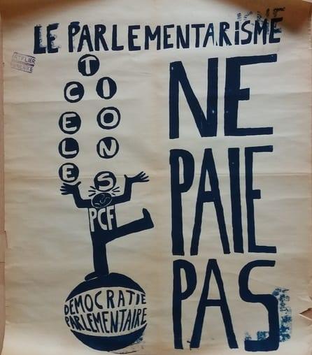 Atelier des Beaux-Arts - Le Parlementarisme - Affiche