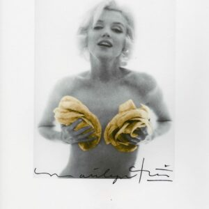 Bert Stern - Marilyn Monroe yellow roses - 2012