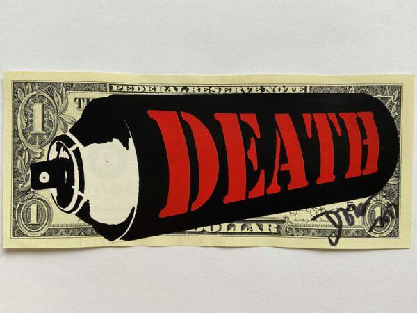 Death NYC - RED DEATH SPRAY - 2017