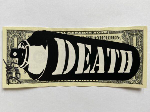 Death NYC - WHITE DEATH SPRAY - 2016
