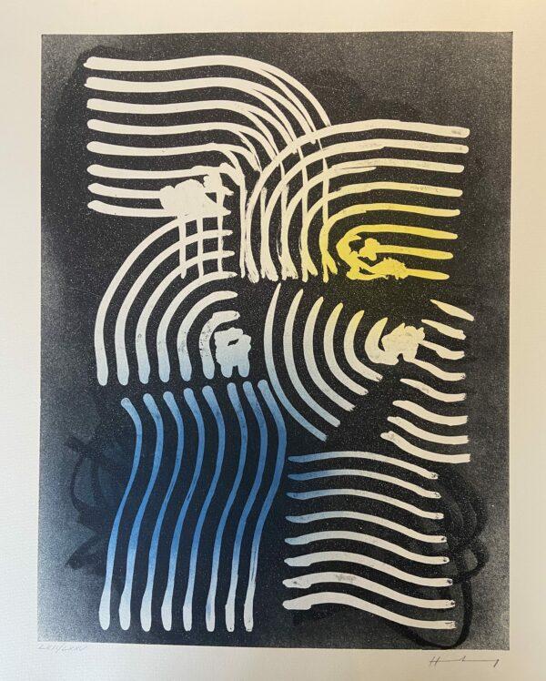 Hans Hartung – Lithographie Farandoles XVIII