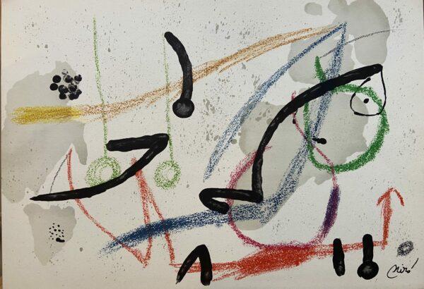 Joan MIRÓ – Maravillas con variaciones Acrósticas en El Jardin de Miró 9